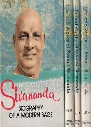 Life and works of Swami Sivananda 4 vol set