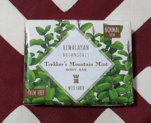Himalayan Botanicals Trekker's Mountain Mint Body Bar (100 GM)