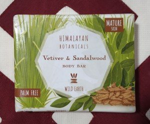 Himalayan Botanicals Vetiver and Sandalwood Body Bar (100 GM)
