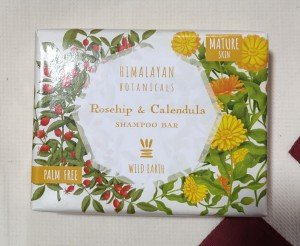 Himalayan Botanicals Rosehip and Calendula Shampoo Bar (100 GM)