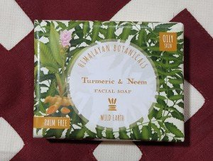 Himalayan Botanicals Turmeric and Neem Facial Soap (100 GM)