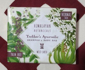 Himalayan Botanicals Trekker's Ayurvedic Shampoo and Bar (100 GM)