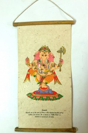 "Inspirational Scroll – print of ""Lord Ganesh"""