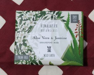 Himalayan Botanicals Aloe Vera and Jasmine Shampoo Bar (100 GM)