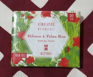 Himalayan Botanicals Hibiscus and Palma Rosa Facial Soap (100 GM)