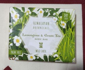 Himalayan Botanicals Lemongrass and Green Tea Body Bar (100 GM)