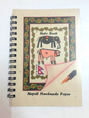 "Small Handmade Notebook – ""Animals"""