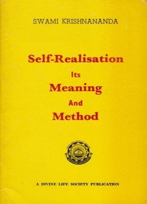 Self- Realisation Its Meaning And Method