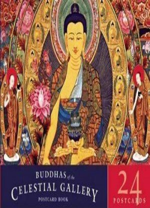 Buddhas of the Celestial Gallery Postcard Book 24 Postcards