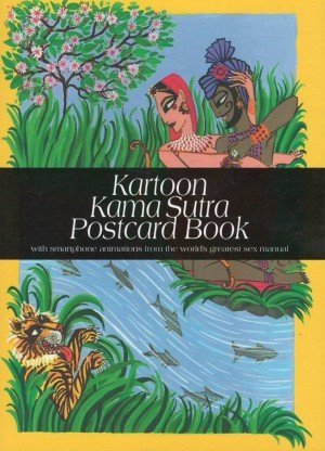 Kartoon Kama Sutra Postcard Book