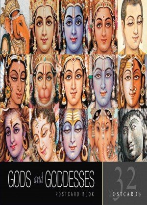 Gods and Goddesses Postcard Book Cards 32 postacrds