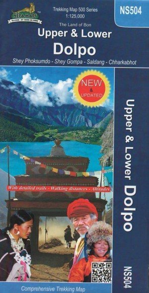 Trekking Map Upper and Lower Dolpo NS504