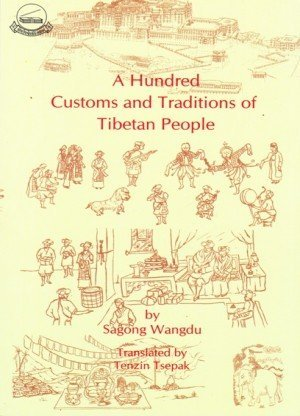 A Hundred Customs and Traditions of Tibetan People
