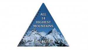 All 14 Highest Mountains Pyramid Desktop Calendar 2018