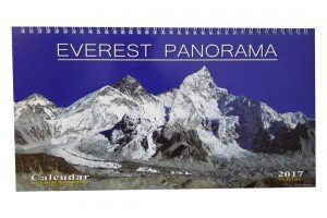 Everest Panorama Wall Calendar 2017