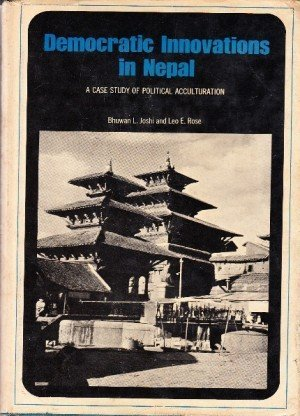 Democratic Innovations in Nepal: A Case Study of Political Acculturation