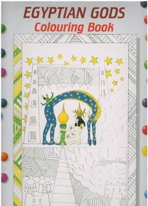 Egyptian Gods Colouring Book