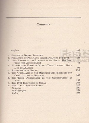 Essays in the Practice of Government in Nepal