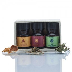 Ayurvedic Formula Kapha Pitta and Vata Essential Oil Blend Kit (12 ml)