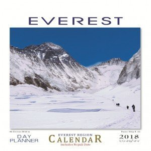 Everest Desktop Calendar 2018