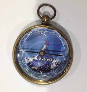 2 Inch Everest Brass Compass in Antique Look (2.156)