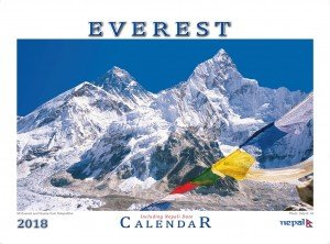Everest Wall Calendar 2018