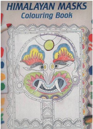 Himalayan Masks Colouring Book