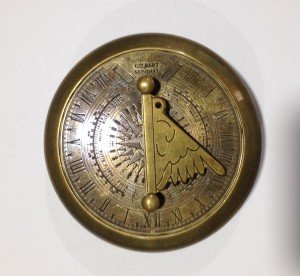 3 Inch Brass Compass in Antique Look (2.153)