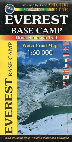 Trekking Map Everest Base Camp M101