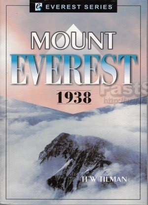 Mount Everest 1938