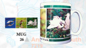 "Souvenir Mug - ""Birds of Nepal"""