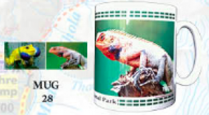 "Souvenir Mug - ""National Park Animals"""