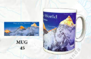 "Souvenir Mug - ""Top of the World"""