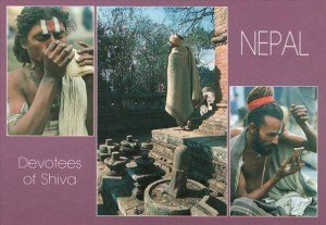 Devotees of Shiva Nepal N2127