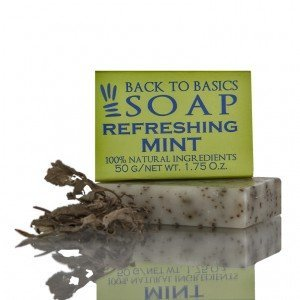 Back to Basics Refreshing Mint Soap (50 gms.)