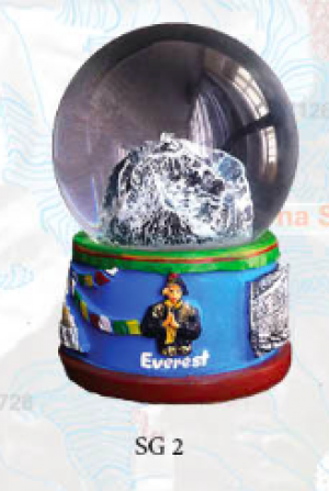 "Snow Globe: ""Everest"""