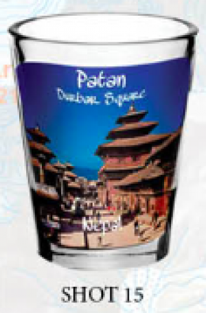 "Shot Glass: ""Patan Durbar Square"""