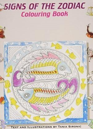 Signs of the Zodiac Colouring Book
