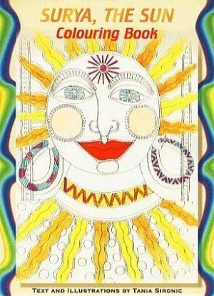 Surya, the Sun Colouring Book