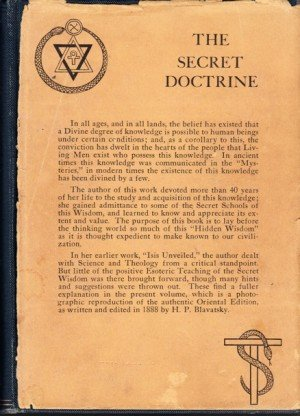 The Secret Doctrine - Volume 1 & 2: The Synthesis of Science, Religion, and Philosophy
