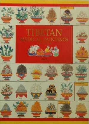 Tibetan Medical Paintings: Illustrations to the Blue Beryl treatise of Sangye Gyamtso (1653-1705) 2 Volumes Set