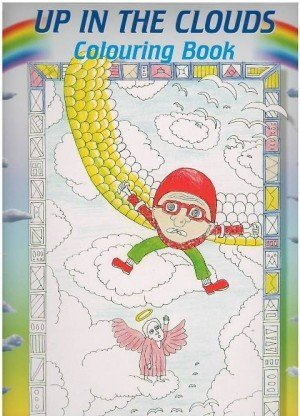 Up in the Clouds Colouring Book