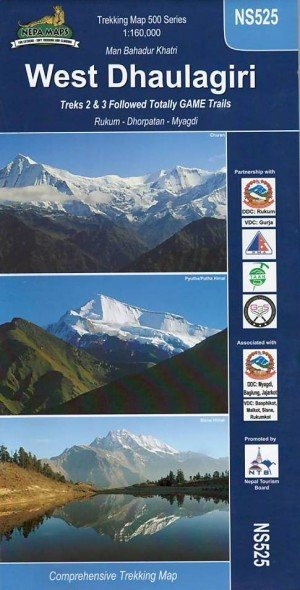 West Dhaulagiri / Dhaulagiri and Kanjirowa NS525