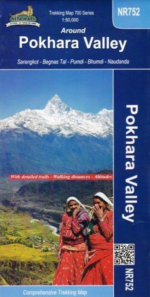 Around Pokhara Valley Trekking Map NR752