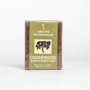 Tibetan Hotsprings Cedarwood Shampoo and Body Soap (100 gms.)