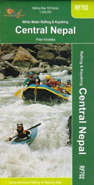 Rafting Map White Water Rafting & Kayaking Central Nepal RF702