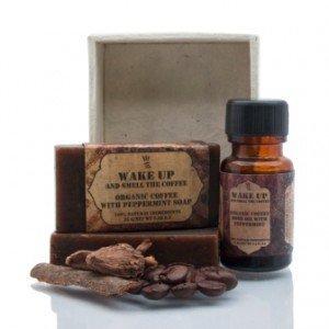 Himalayan Organics Coffee Peppermint Soap & Oil Gift Pack