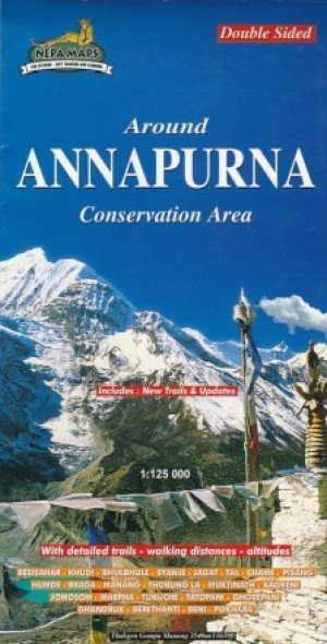 Around Pokhara Valley and Around Annapurna Conservation Area: Double Sided