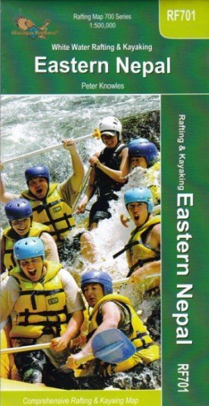 Rafting Map White Water Rafting & Kayaking Eastern Nepal RF701