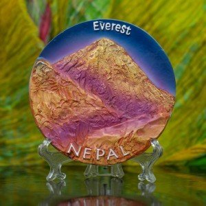Decorative Everest Ceramic Plate